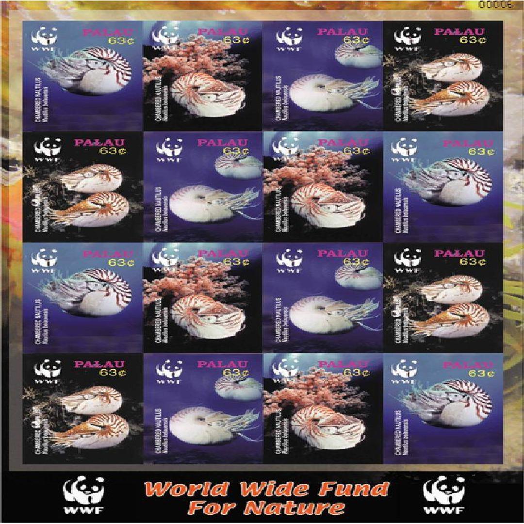 鹦鹉螺邮票